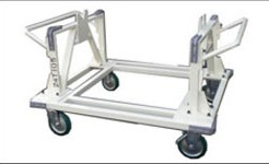 組付作業ができ、運搬できる台車
