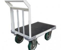 小型ながら重量運搬できる台車