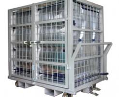 液体容器を保冷して運搬する台車